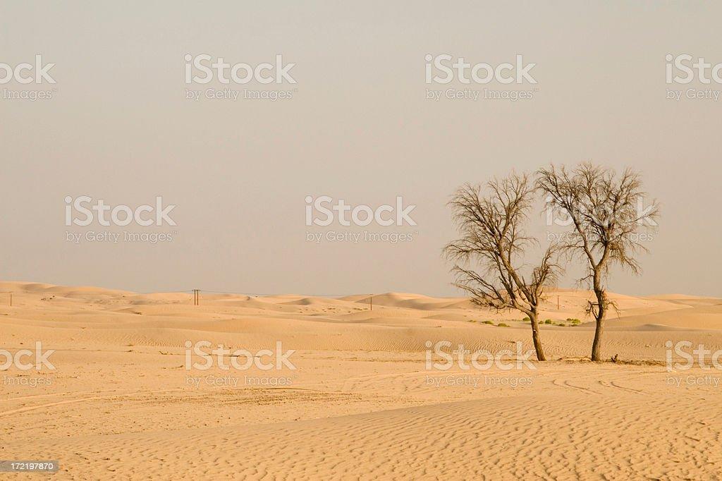 Al Khatim Desert stock photo