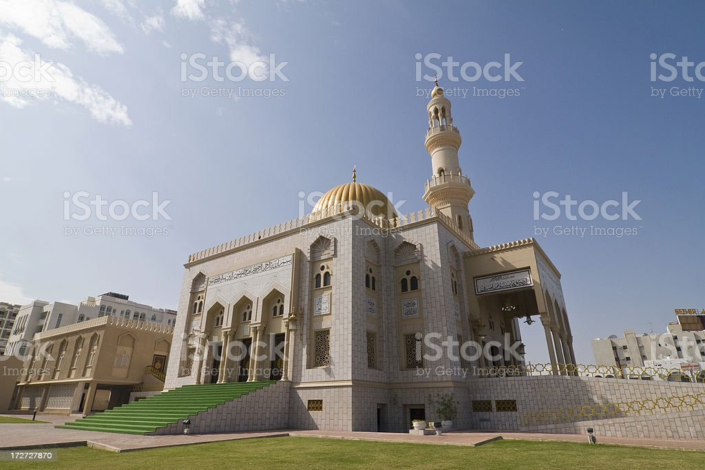 Al Khuwair Mosque in Muscat stock photo