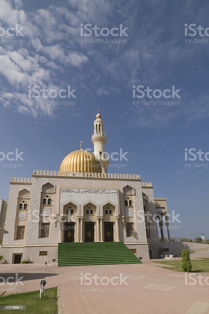 Al Khuwair Mosque in Muscat royalty-free stock photo