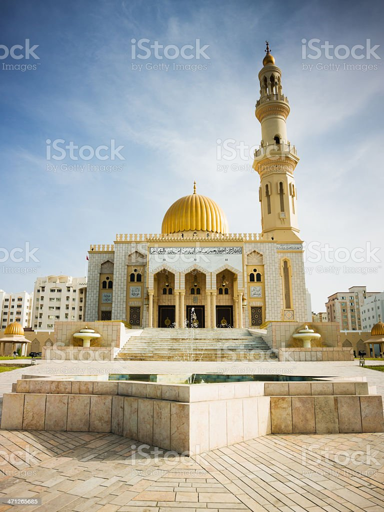 Al Khuwair Mosque Muscat Sultanate of Oman stock photo