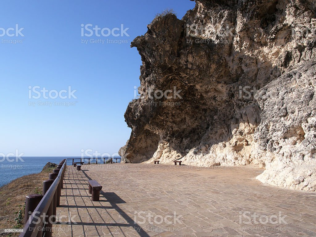 Al Marneef, West Dhofar, Oman stock photo