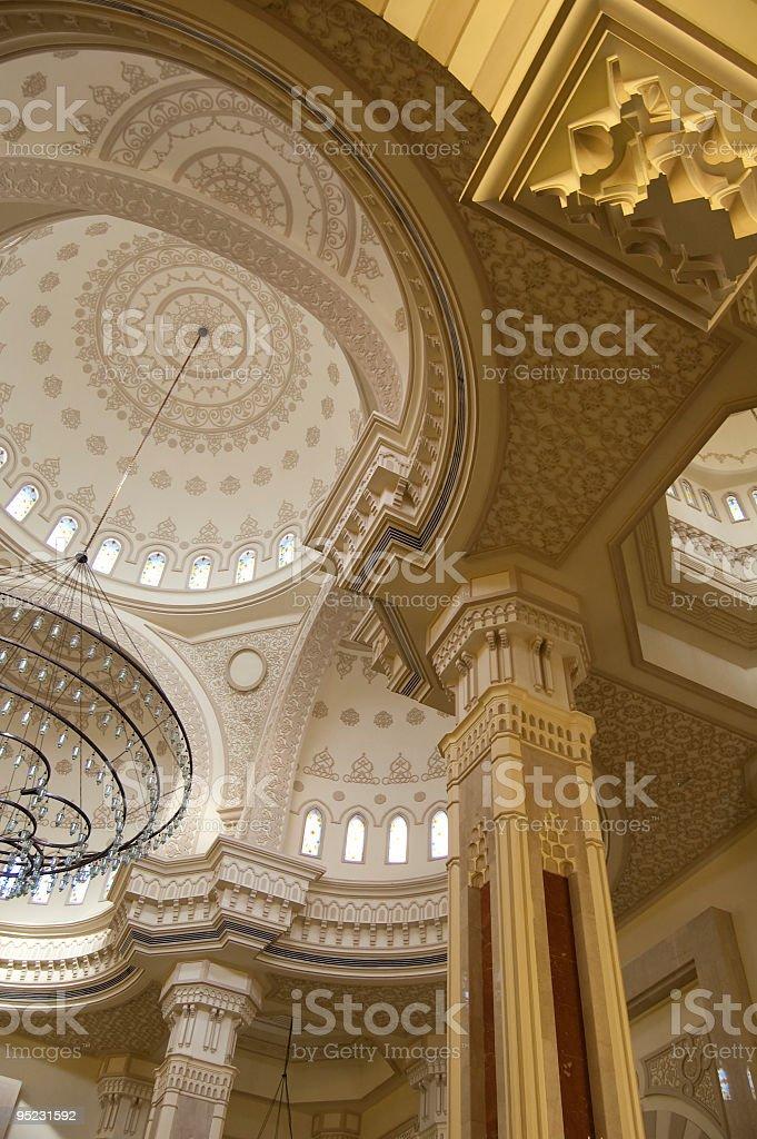 Al- Noor Mosque royalty-free stock photo