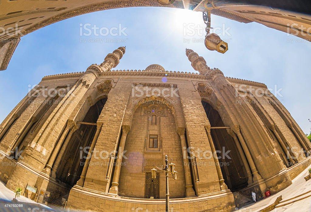 Al Refaei Mosque stock photo