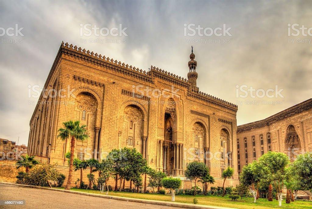 Al Rifai Mosque in Cairo - Egypt stock photo
