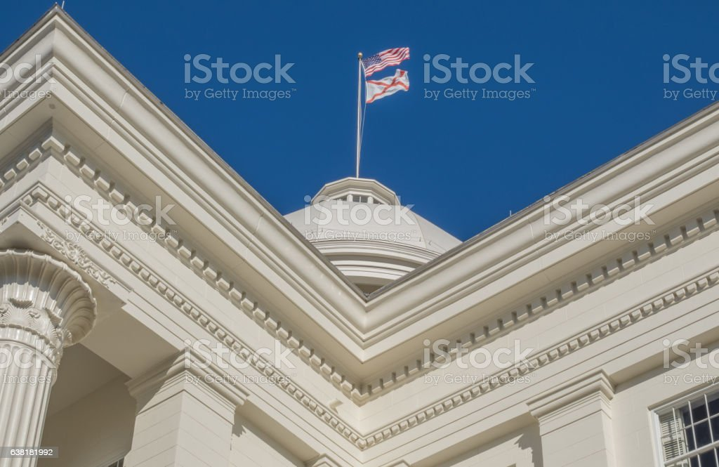 Alabama Capitol Building stock photo