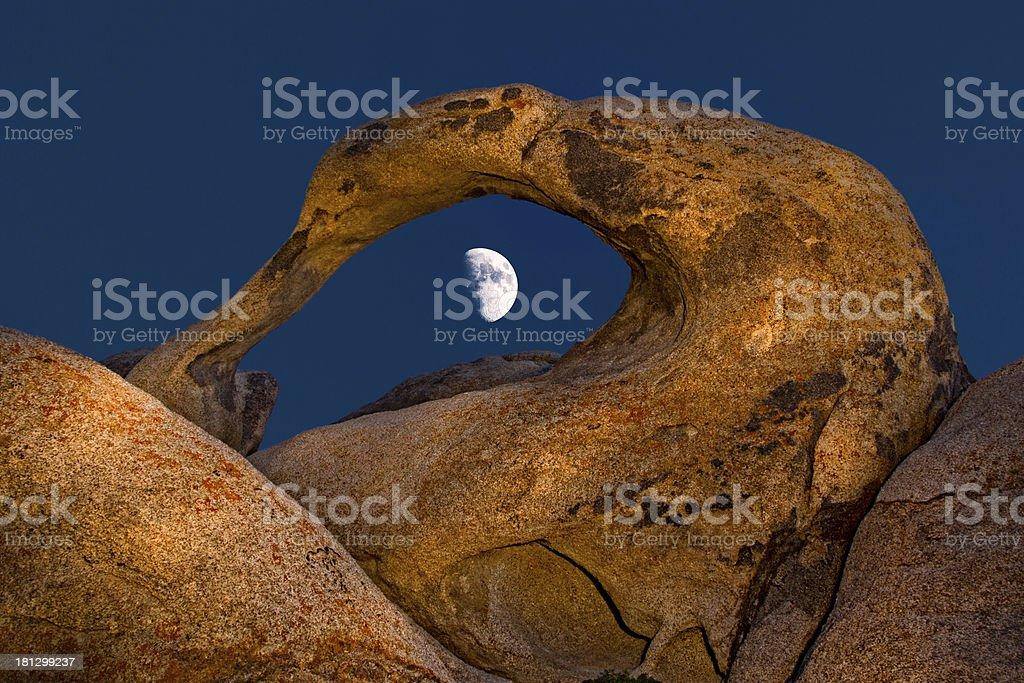 Alabama Hills Arch stock photo