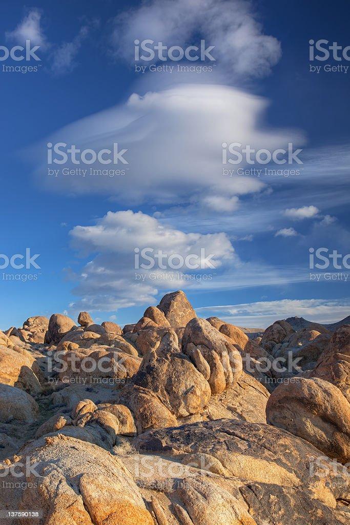 Alabama Hills stock photo