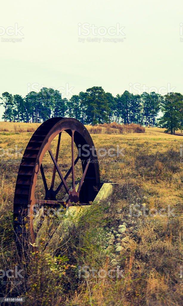 Moulin à roue Alabama photo libre de droits