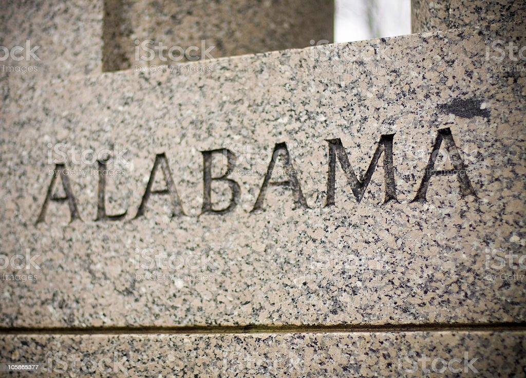 Alabama royalty-free stock photo
