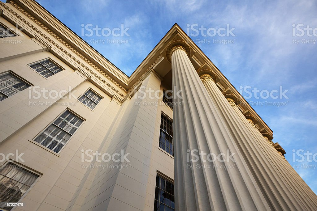 Alabama State Capital Building stock photo