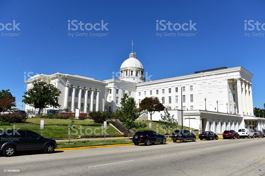 Alabama State Capitol stock photo