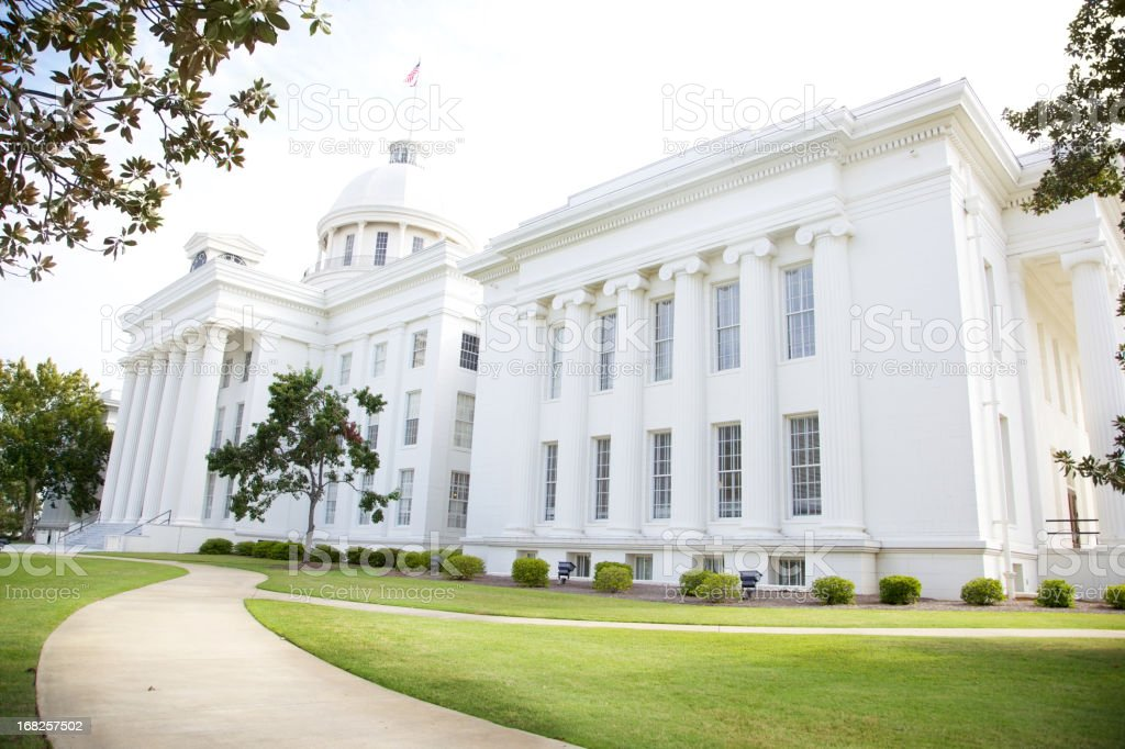 Alabama State House Capitol - Montgomery stock photo