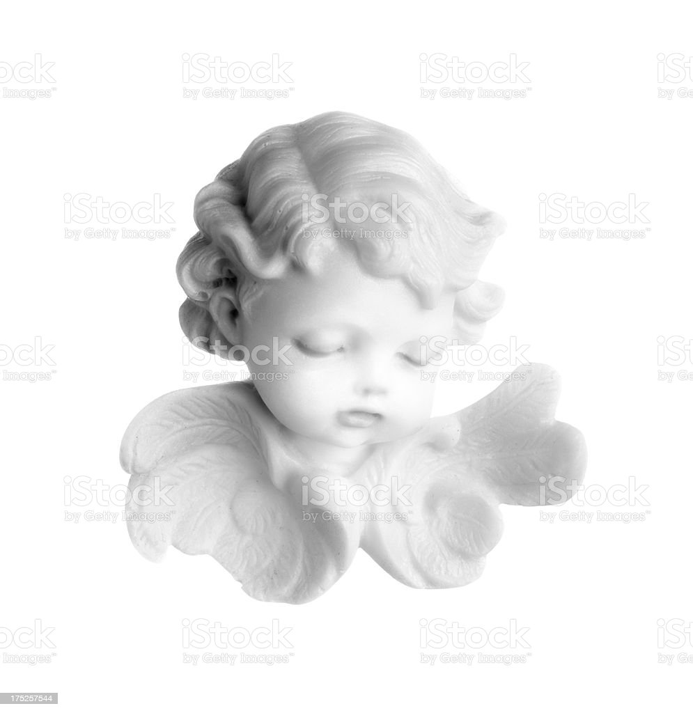 Alabaster Angel stock photo