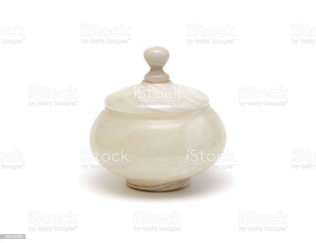 Alabaster Jar stock photo