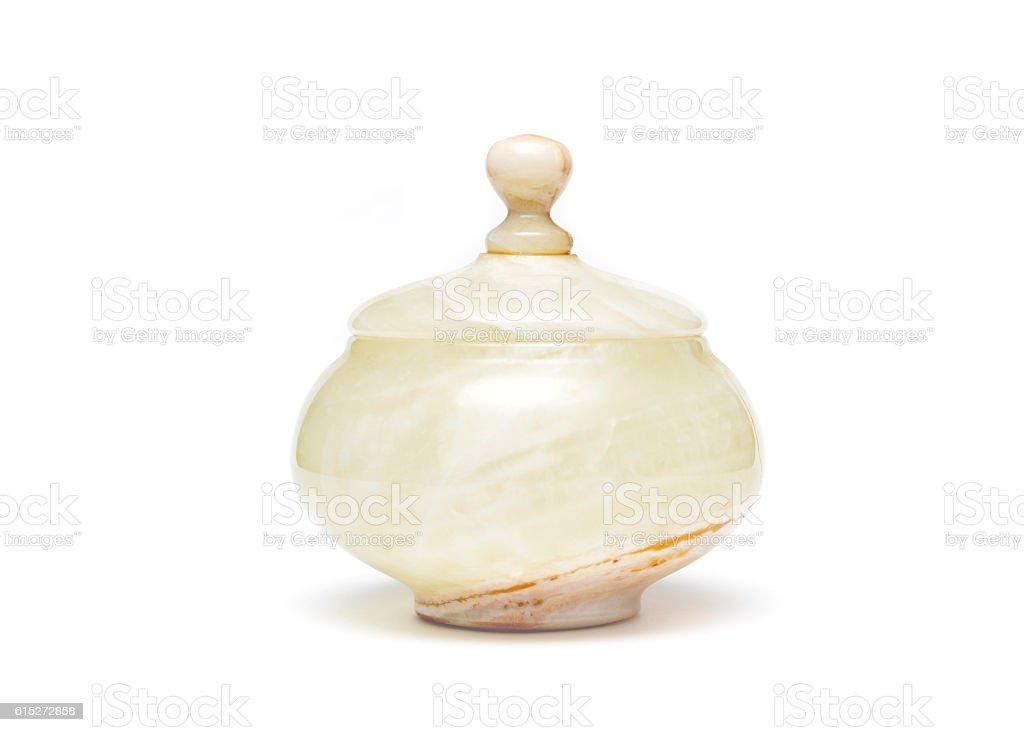 Alabaster Jar stock photo