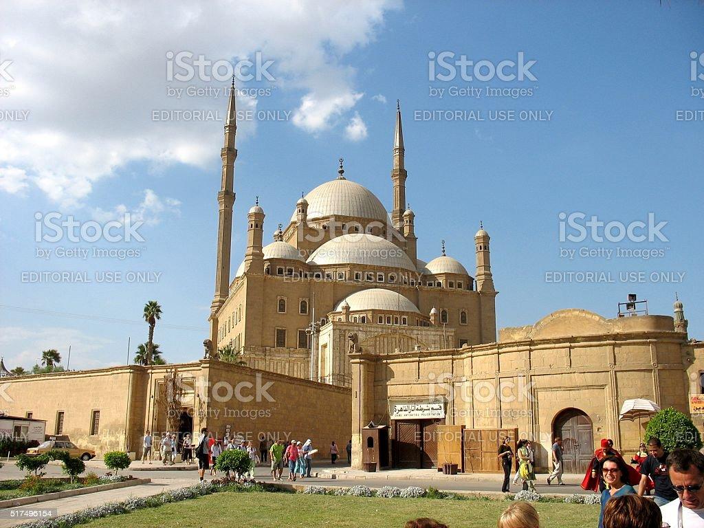 Alabaster Mosque stock photo