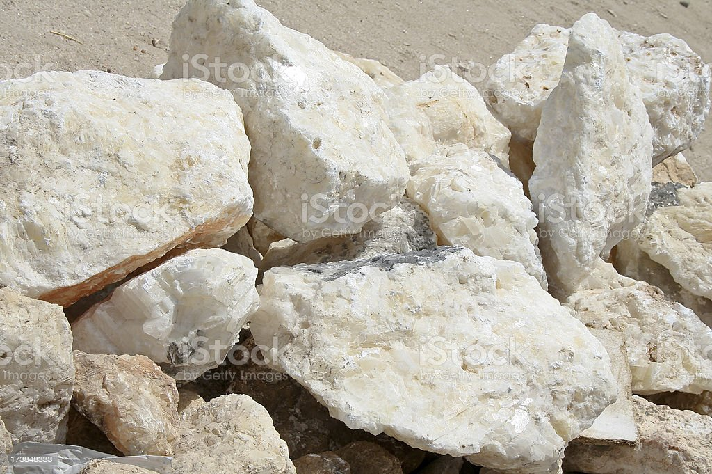Alabaster stock photo