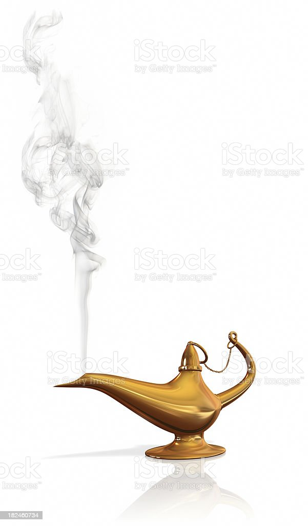 Aladdin lamp royalty-free stock photo