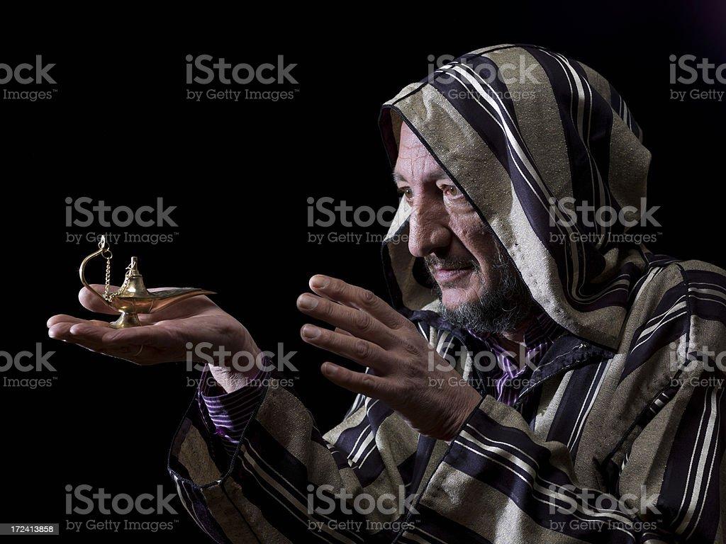 Aladdin royalty-free stock photo
