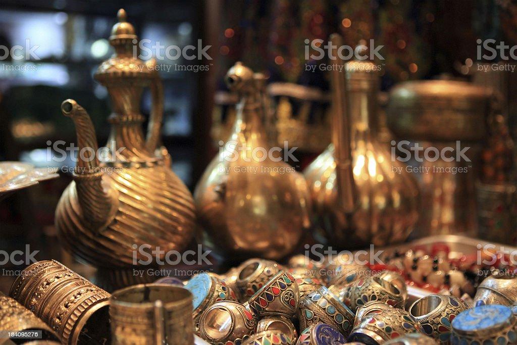 aladdin treasure stock photo