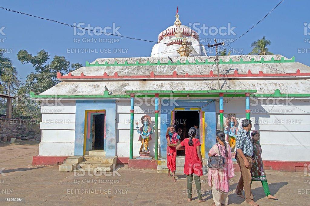 Alalanath temple stock photo