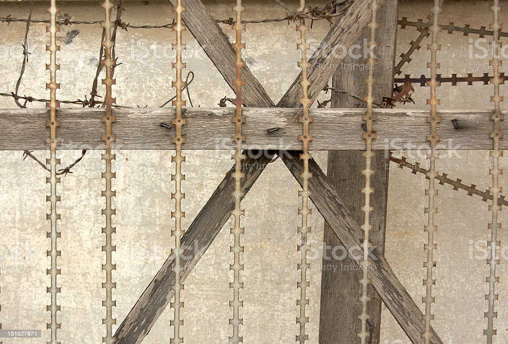 alambrada royalty-free stock photo