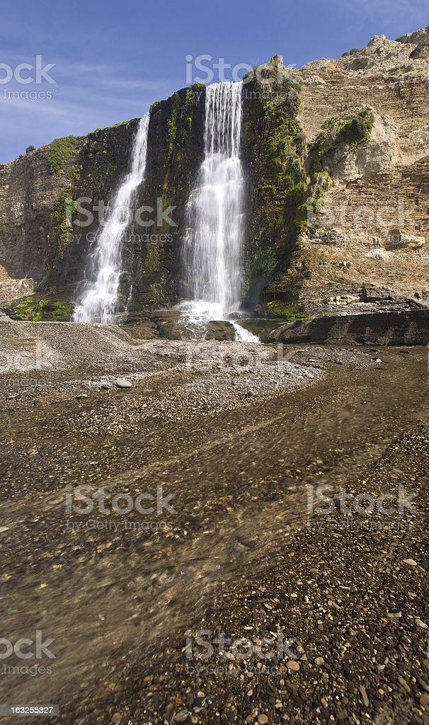 Alamere Falls, Point Reyes, California stock photo