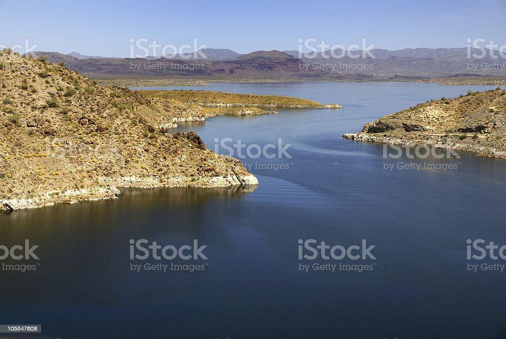 Alamo Lake State Park. Arizona stock photo