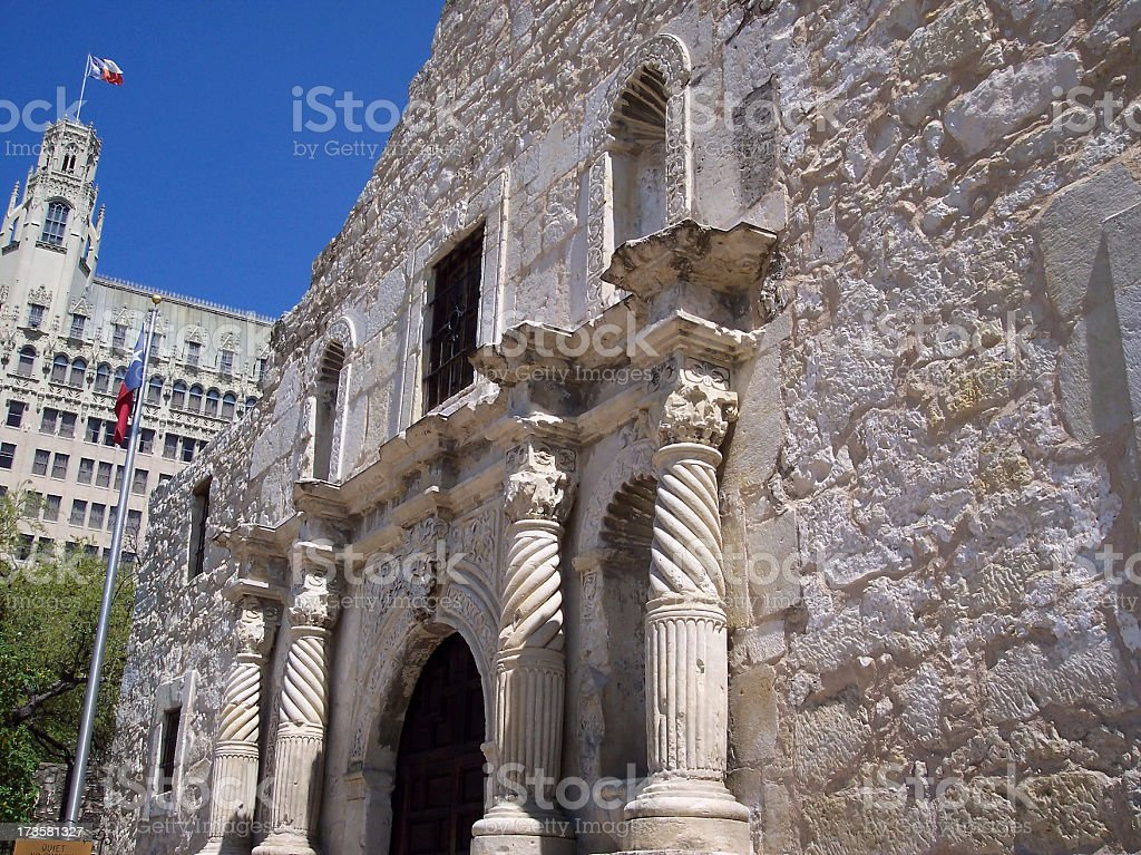Alamo Perspective royalty-free stock photo
