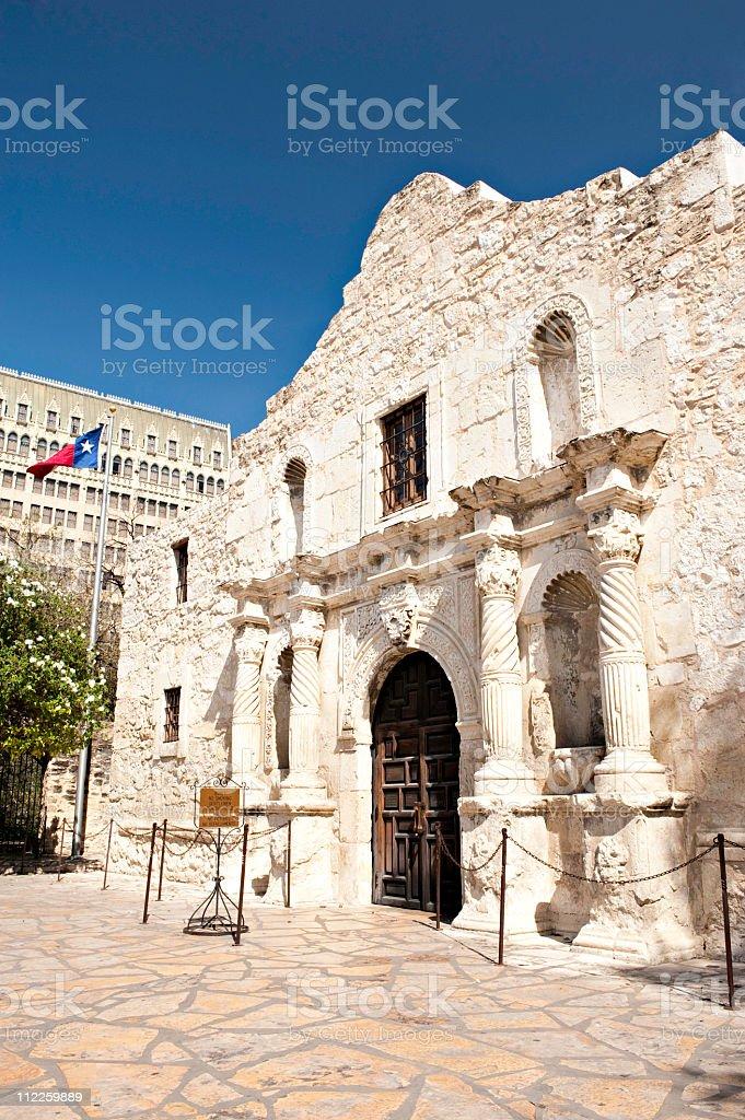 Alamo verticle royalty-free stock photo