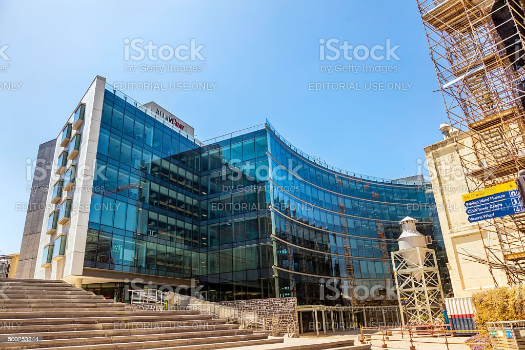 Alan Gray building at the V&A Waterfront, Cape Town stock photo