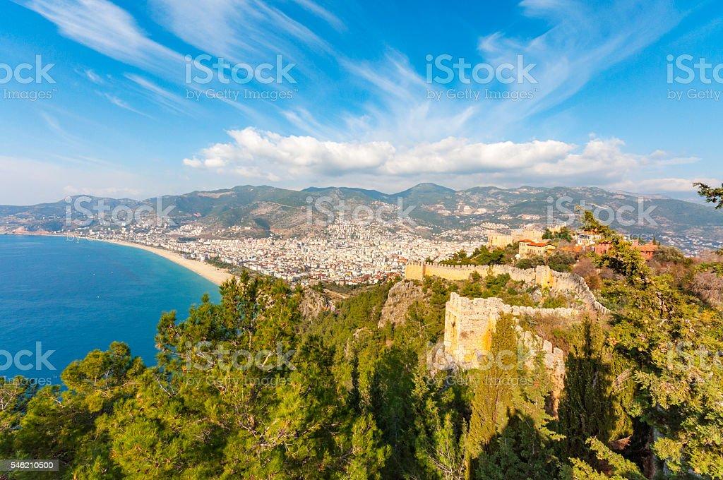 Alanya, Antalya stock photo