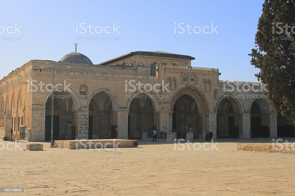 al-Aqsa Mosque royalty-free stock photo