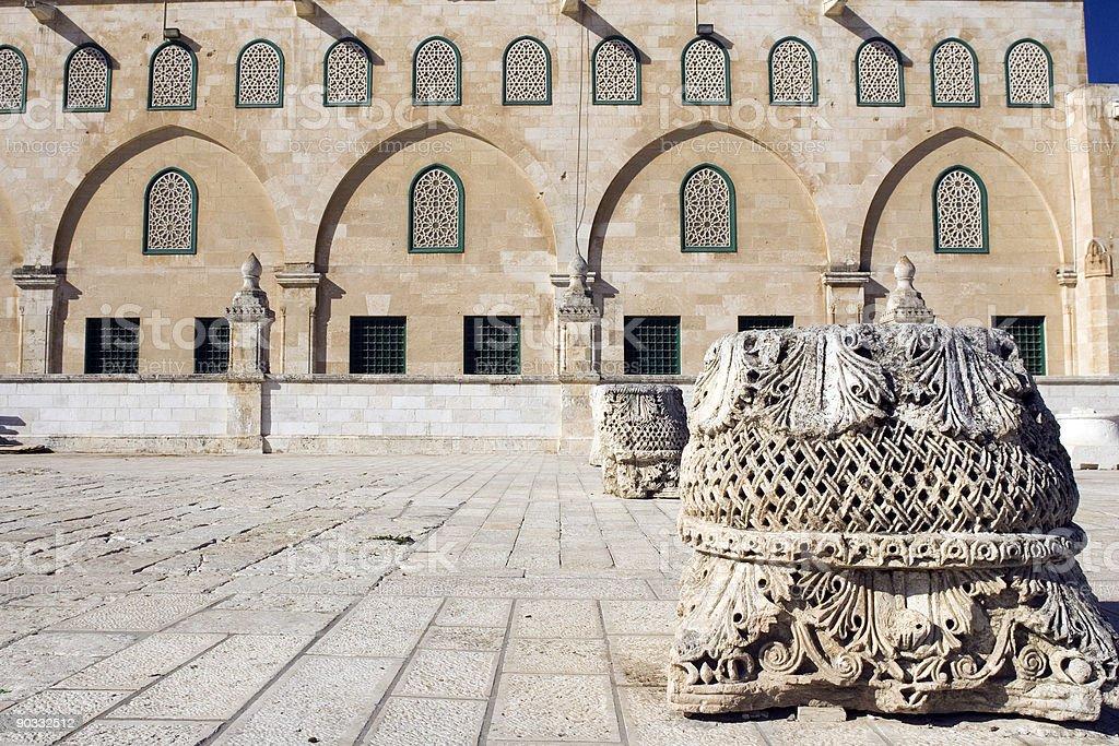 Al-Aqsa Mosque stock photo