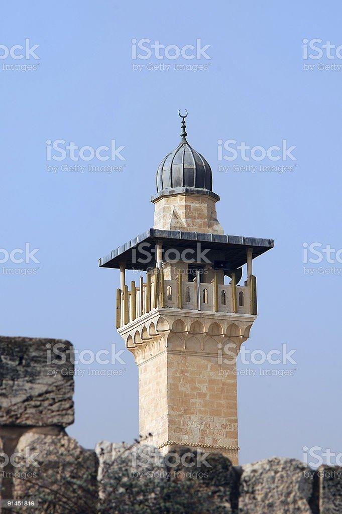 Al-Aqsa Mosque royalty-free stock photo
