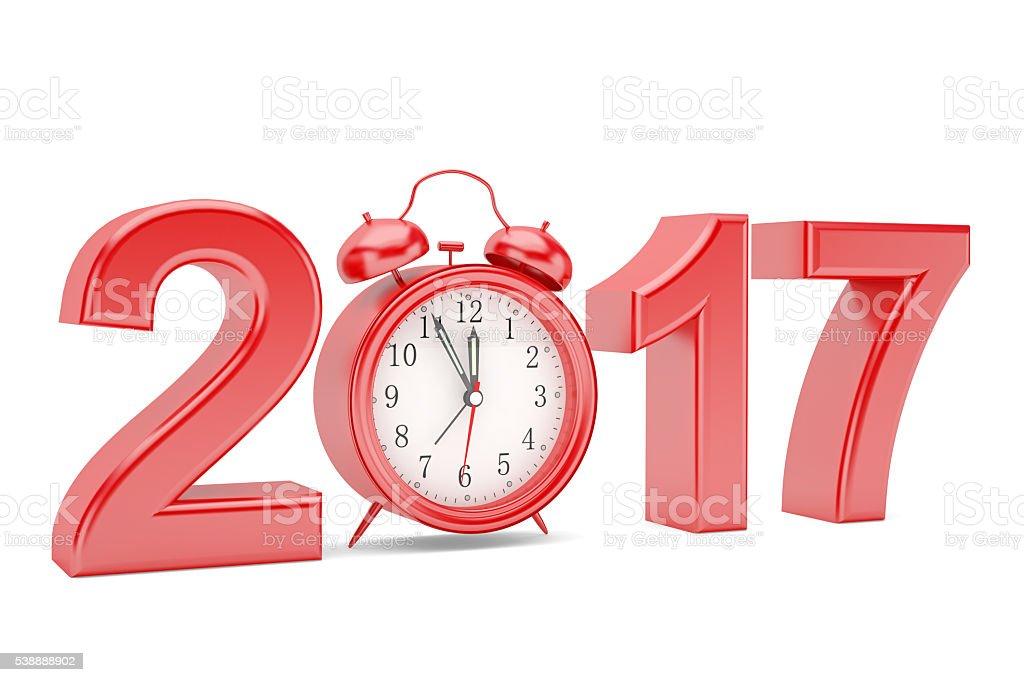 Alarm Clock 2017 stock photo