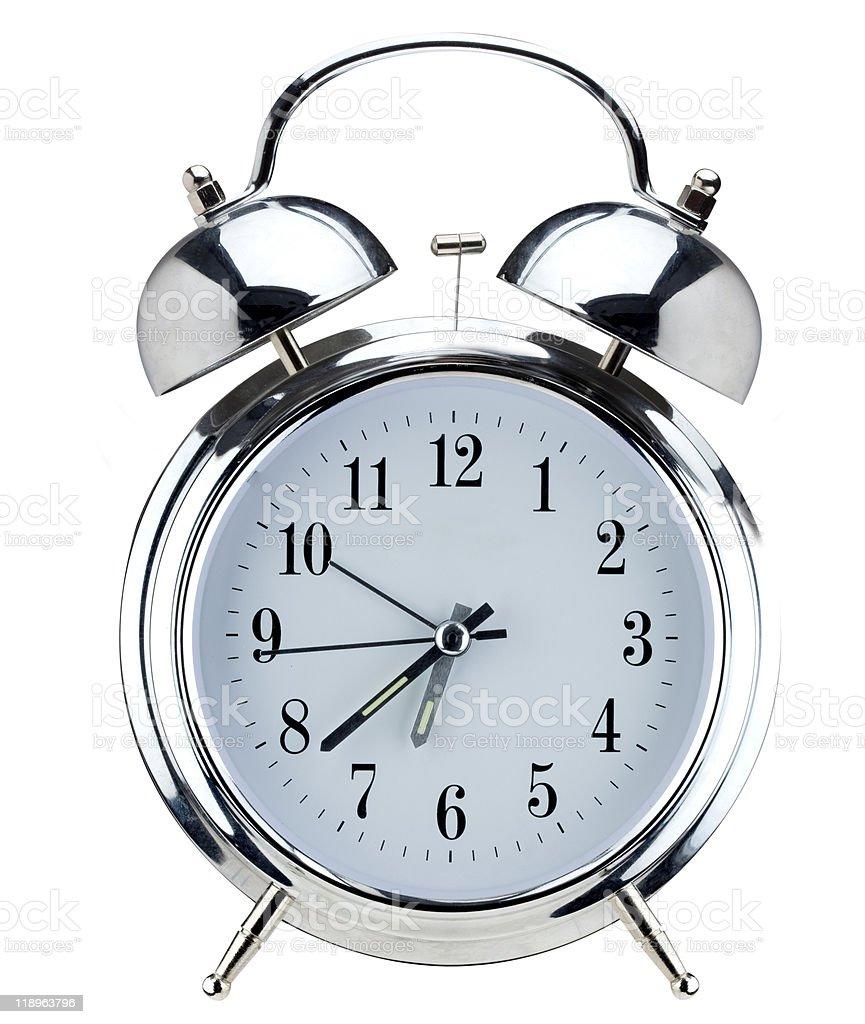Alarm clock. royalty-free stock photo