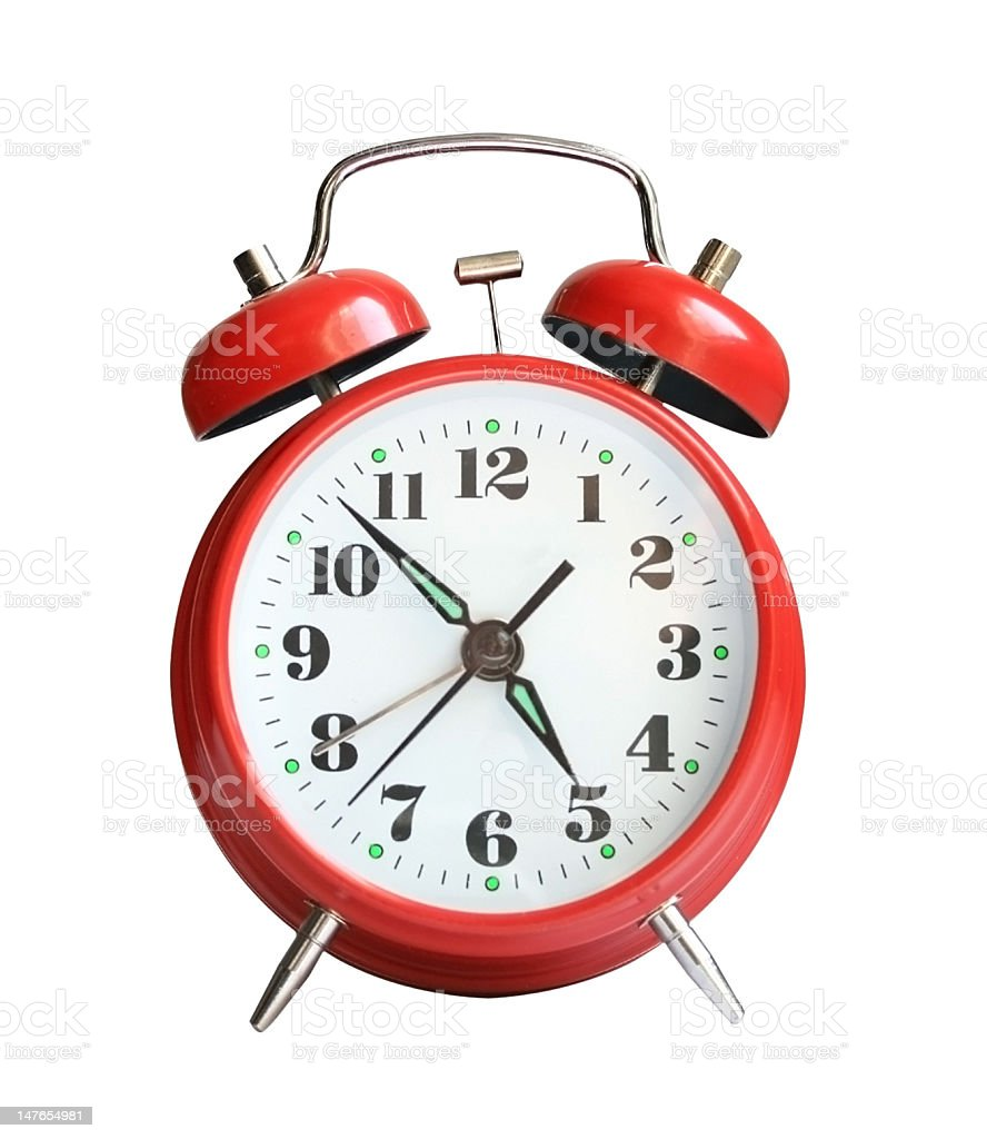Alarm- clock royalty-free stock photo