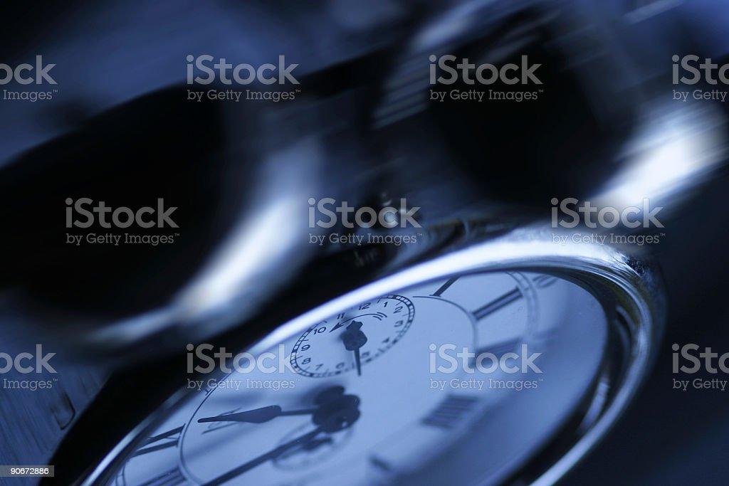 Alarm Clock Ringing royalty-free stock photo