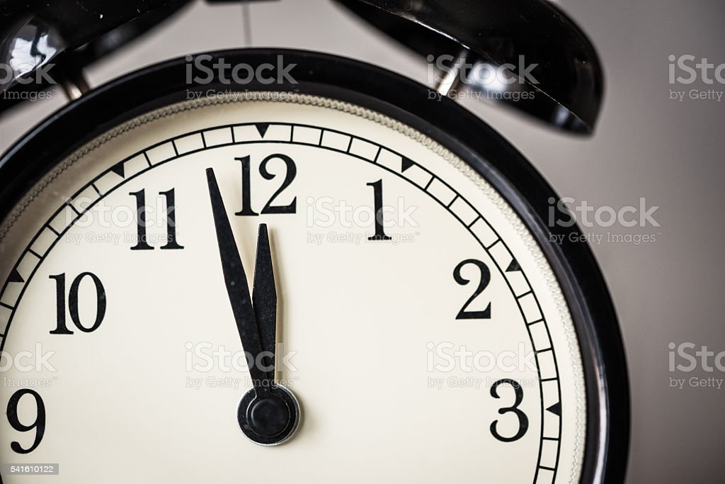 Alarm clock watch stock photo