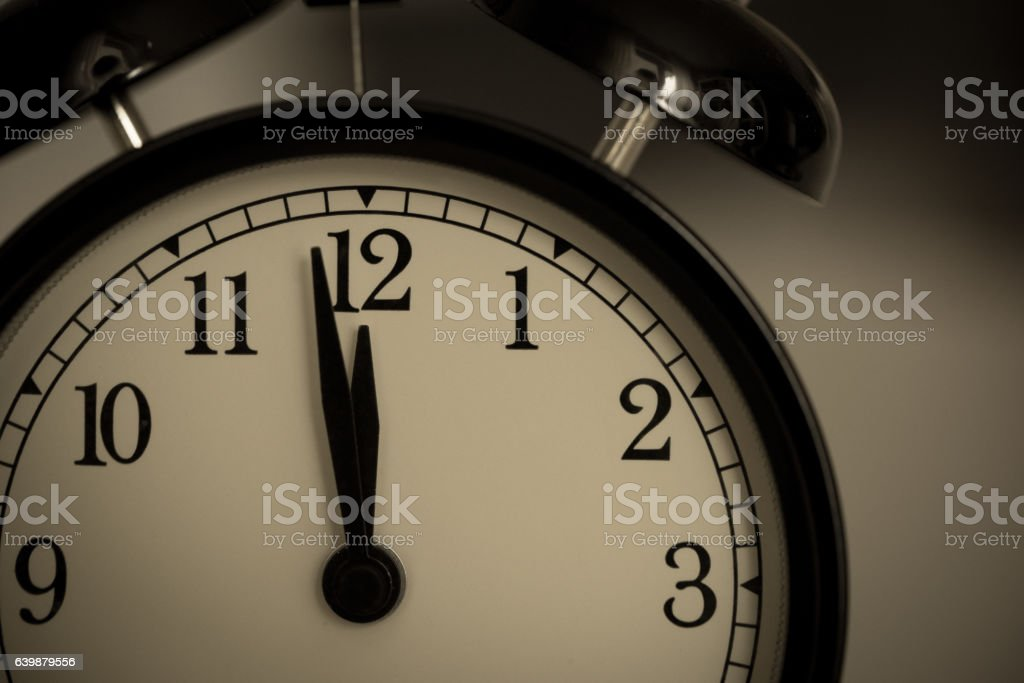 Alarm clock watch stock photo