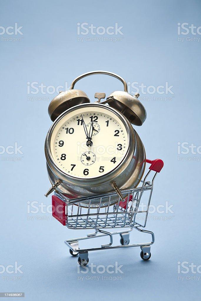 Alarm for shopping royalty-free stock photo
