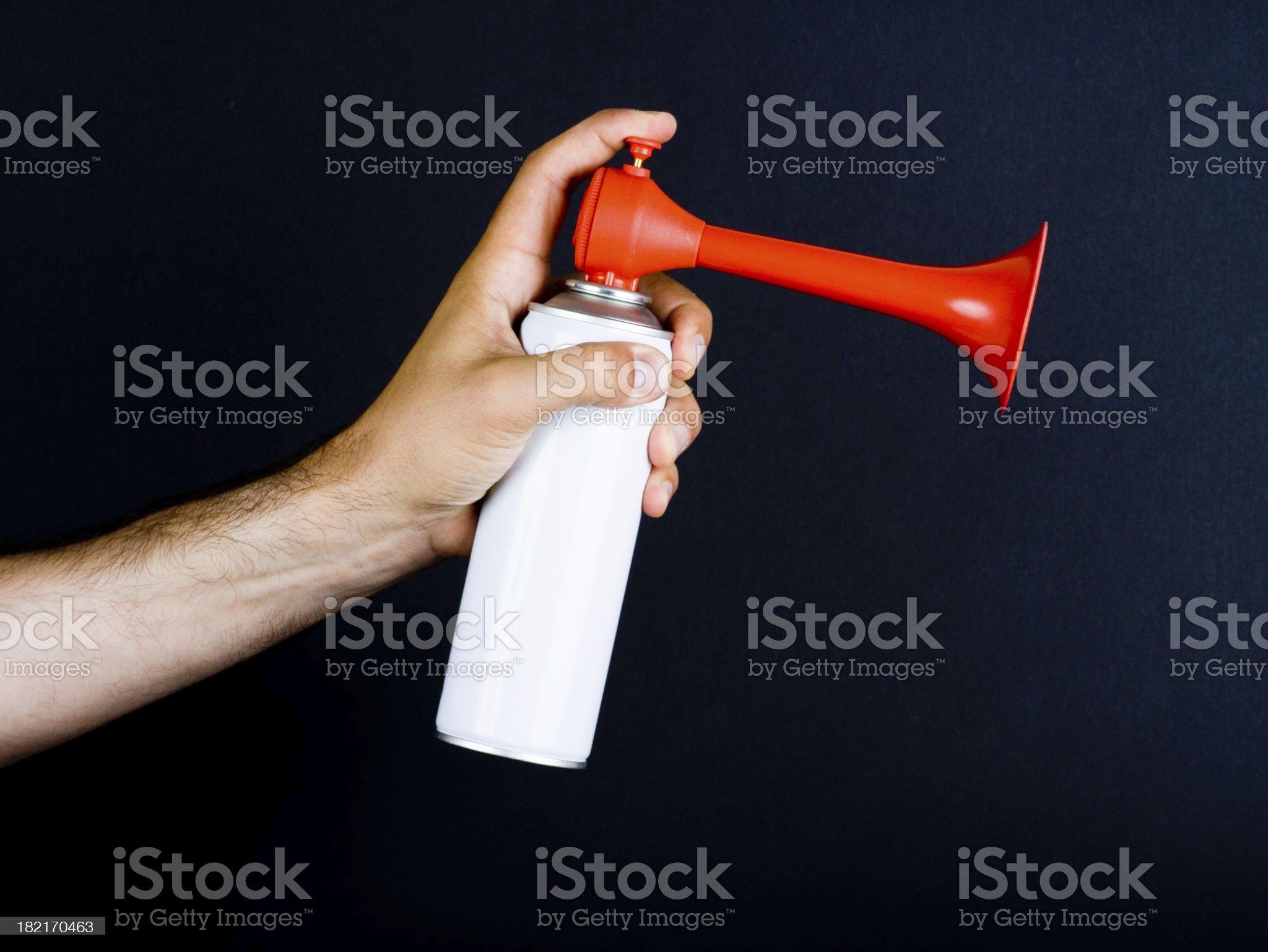 Alarm horn royalty-free stock photo