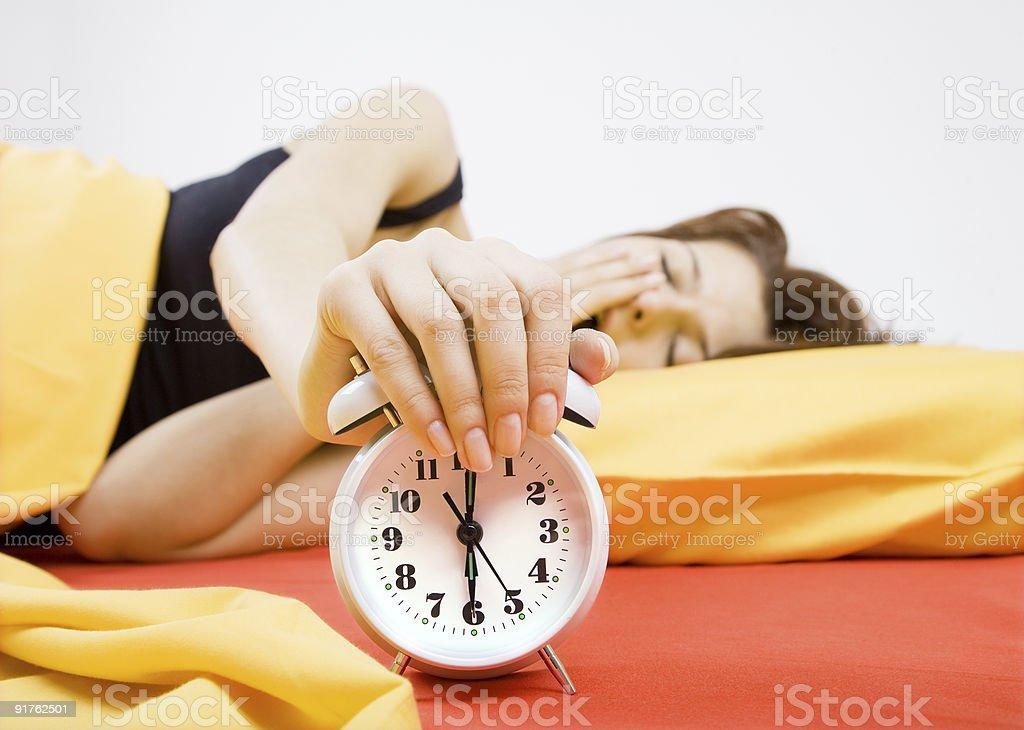 Alarm royalty-free stock photo