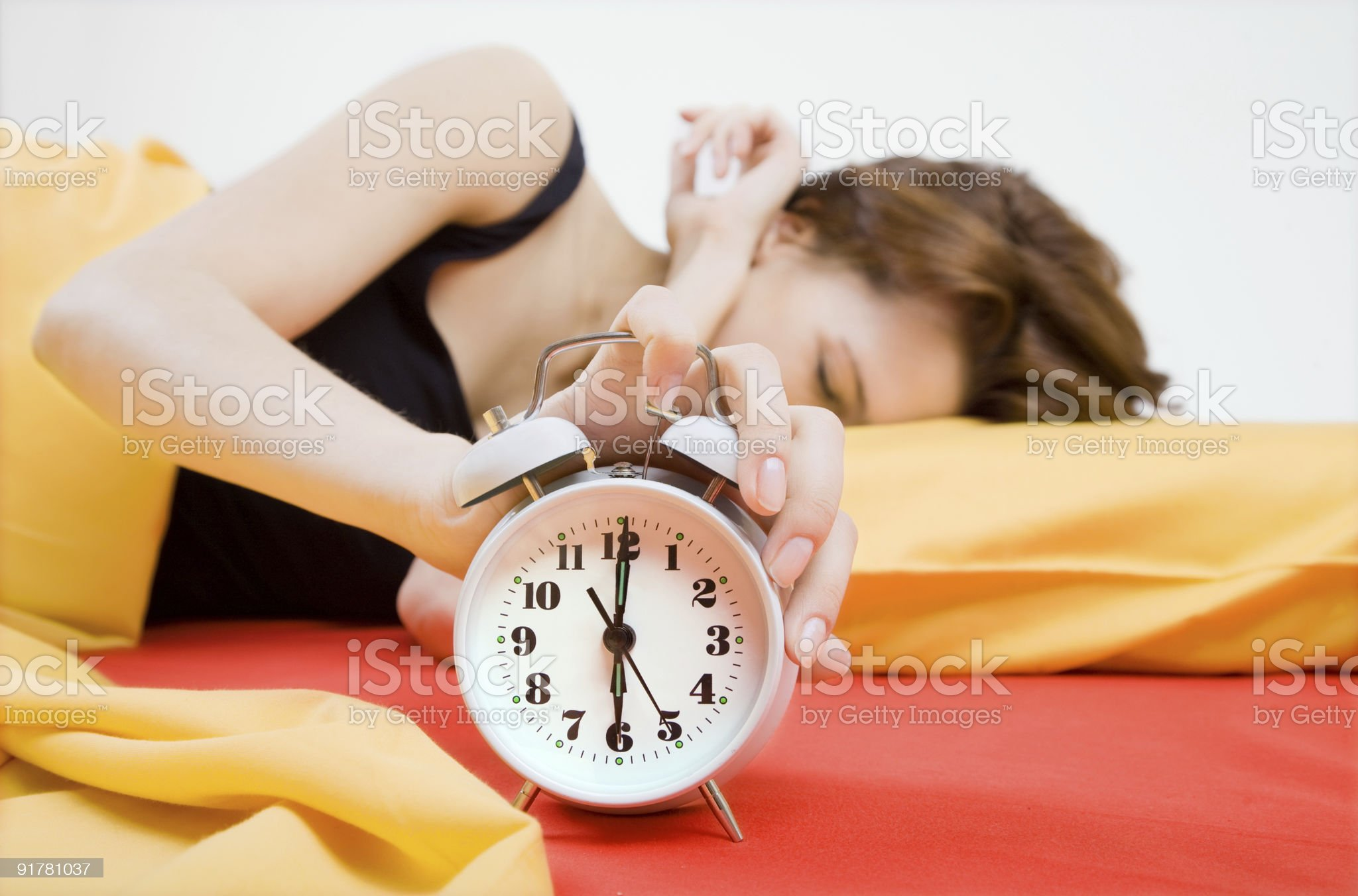 Alarm royalty-free stock photo