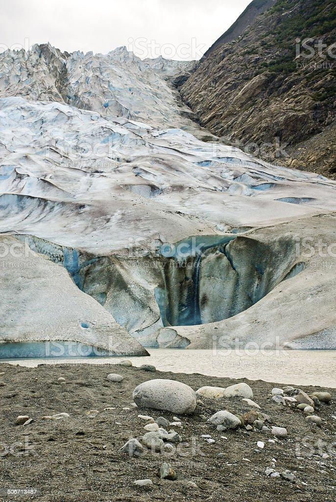 Alaska - Davidson Glacier royalty-free stock photo
