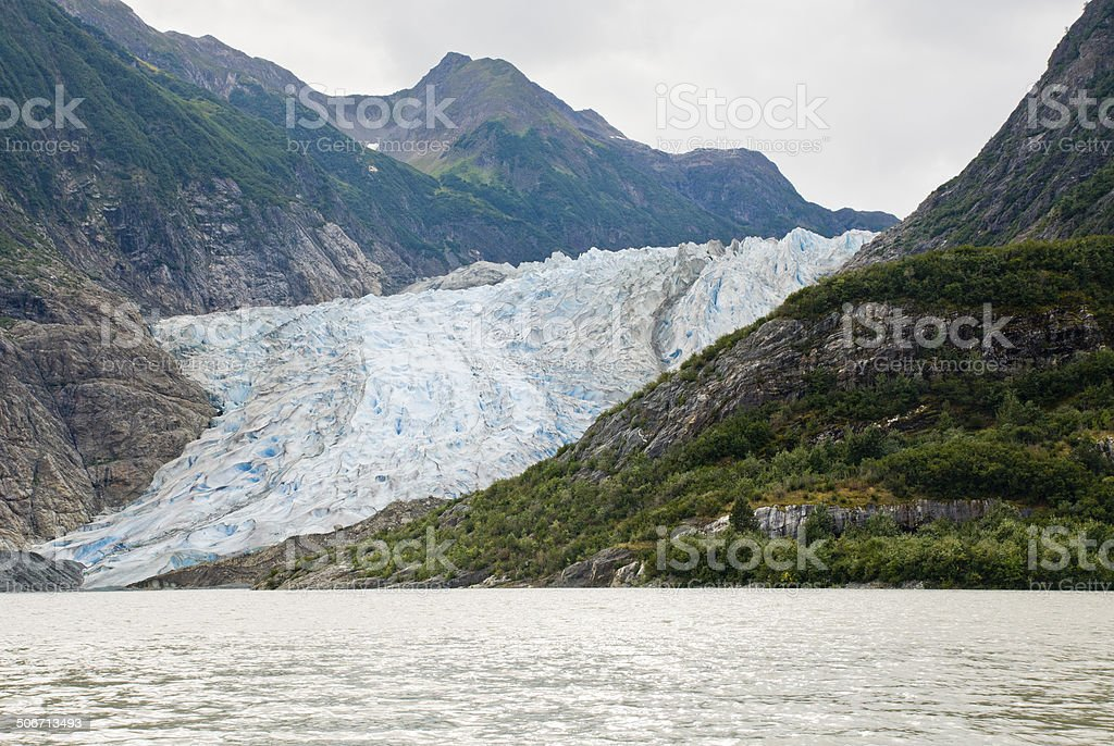 Alaska - Davidson Glacier royalty-free stock photo