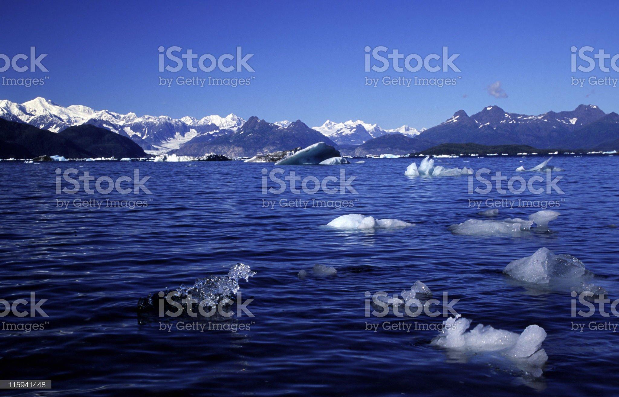 Alaska fjord royalty-free stock photo
