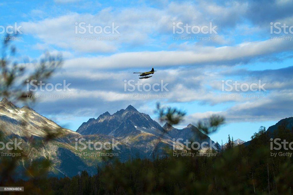 Alaska Fly Out stock photo