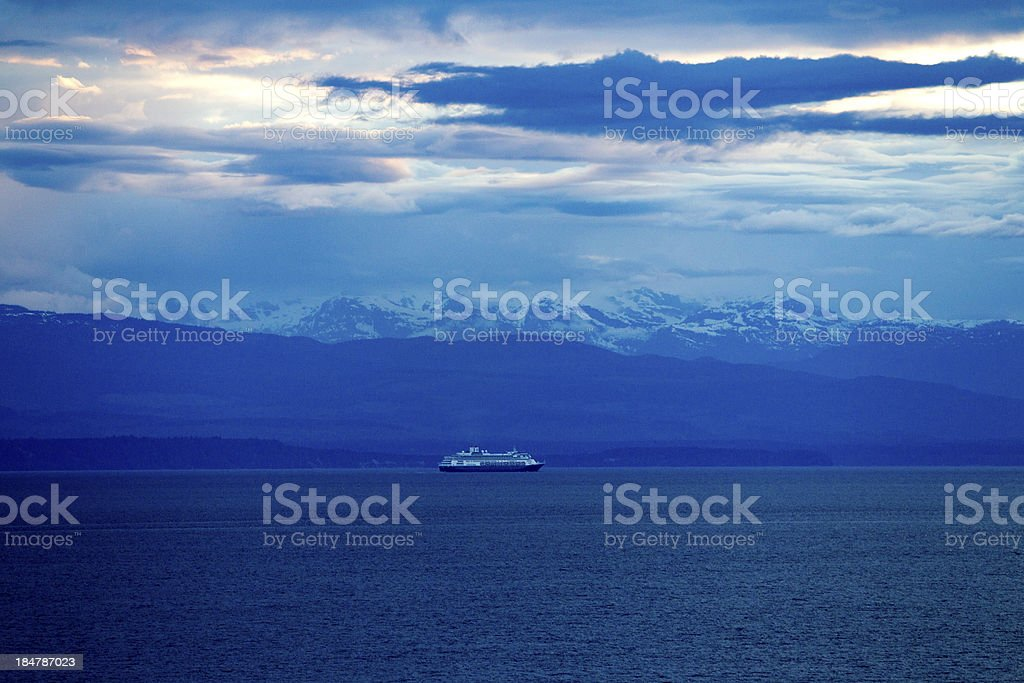 Alaska Inside Passage royalty-free stock photo